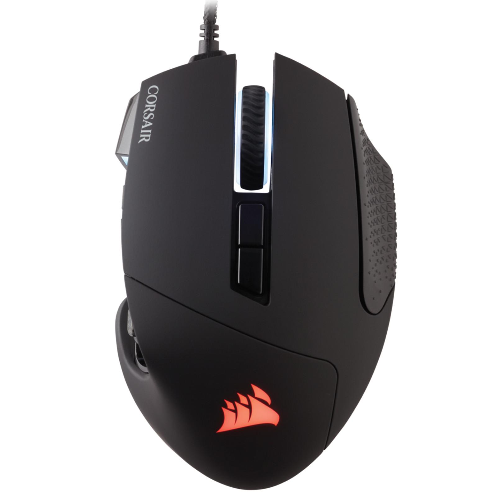 405fada3918 Corsair Scimitar Pro B Gaming Mouse RGB - 16000 DPI MOBA/MMO Optical - Black
