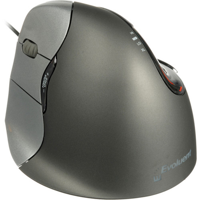 97cf355ad85 Evoluent VM4L Wired Left Handed Vertical Mouse 4 left-handed Ergonomic Mouse