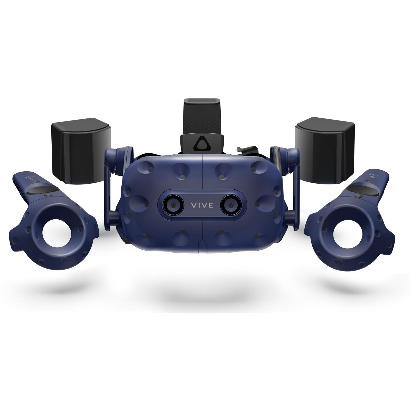 Buy the HTC VIVE Pro Virtual Reality Kit VIVE Pro HMD, 2 X Base Station  2 0, 2    ( 99HANW007-00 ) online
