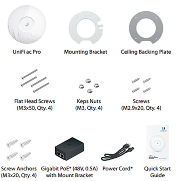 Buy the Ubiquiti UniFi UAP-AC-PRO-3 Dual-band AC1750 (450+