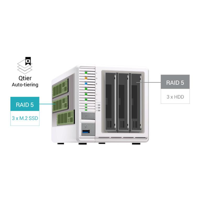 Buy the QNAP TS-332X-2G NAS Server Tower 3x 3 5