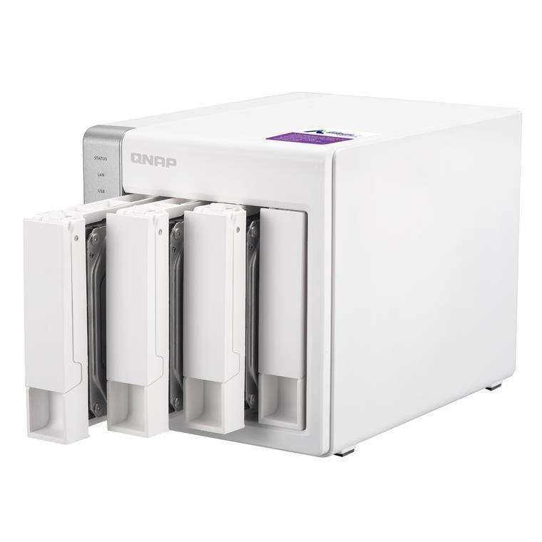 Buy the QNAP TS-431P NAS Server 4-Bay SATA 6G, Alpine AL-212