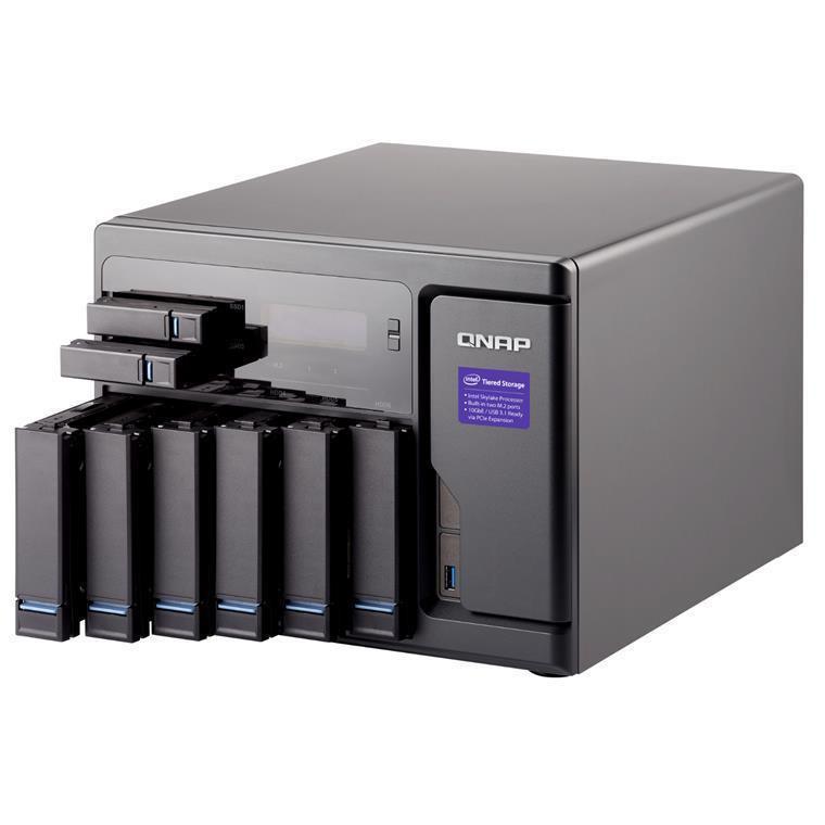 Buy the QNAP TVS-882-i5-16G, Tower 8-Bay NAS Server, Quad