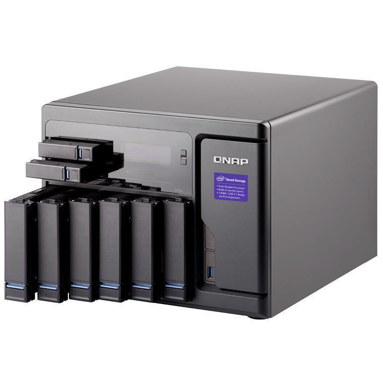 Buy the QNAP TVS-882-i3-8G, Tower 8-Bay NAS Server, Dual Core i3 3 7