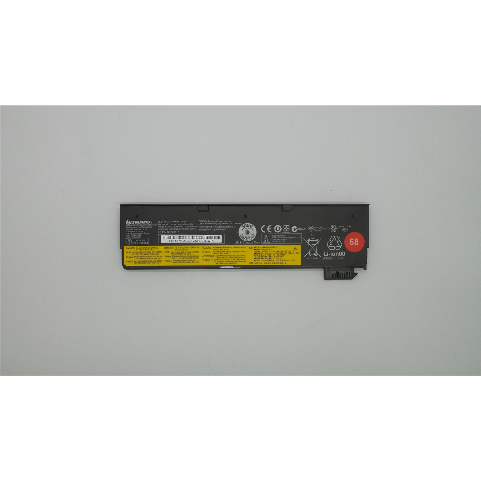Buy the OEM Lenovo Battery 45N1126 For ThinkPad X240 T440 T450S