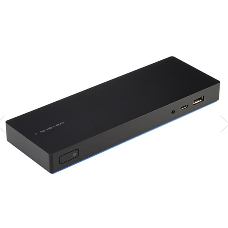 Buy the HP Elite USB-C Desk Dock with 2X USB Type-C (1 for