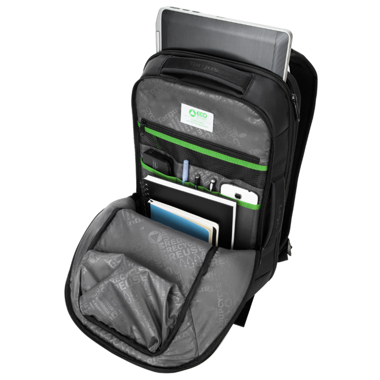 Buy the targus ecosmart backpack business for 14 156 laptop targus ecosmart backpack business for 14 156 laptopnotebook black carry paperwork business card accessories gear wear resistant drop resistant colourmoves Gallery