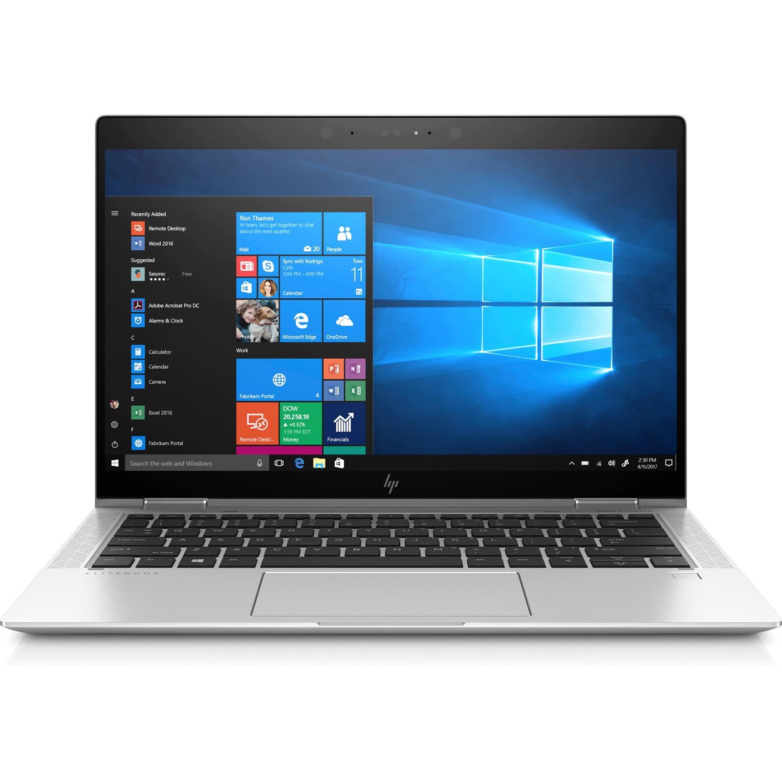 "HP EliteBook x360 1030 G3 Business Ultrabook 13 3"" FHD Anti Glare Touchscreen Intel i7 8650U 8GB DDR4 256GB 4G LTE NVME SSD Win10Pro 64bit 3yr warranty"