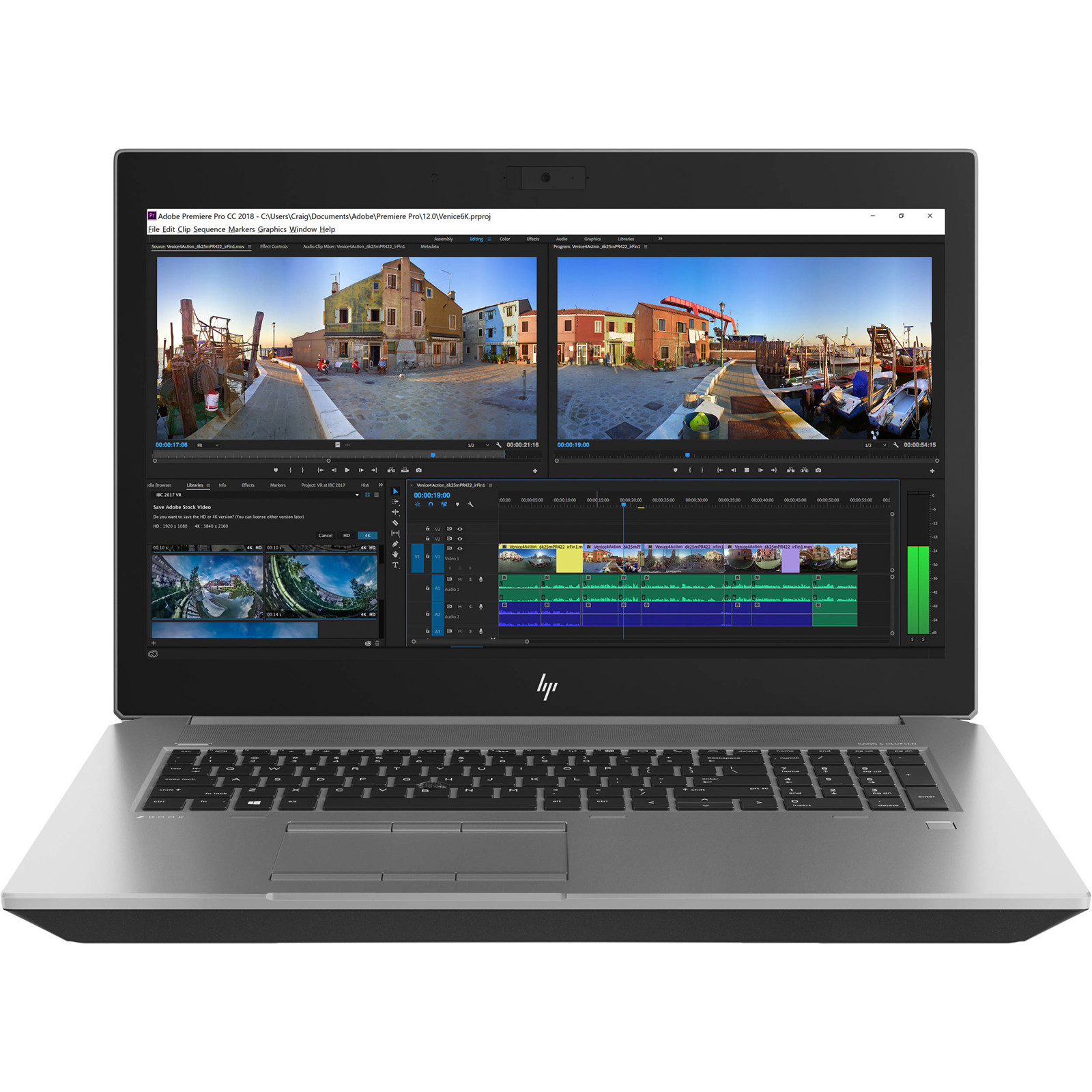 Buy The Hp Zbook 15 G5 Mobile Workstation Intel Core I7