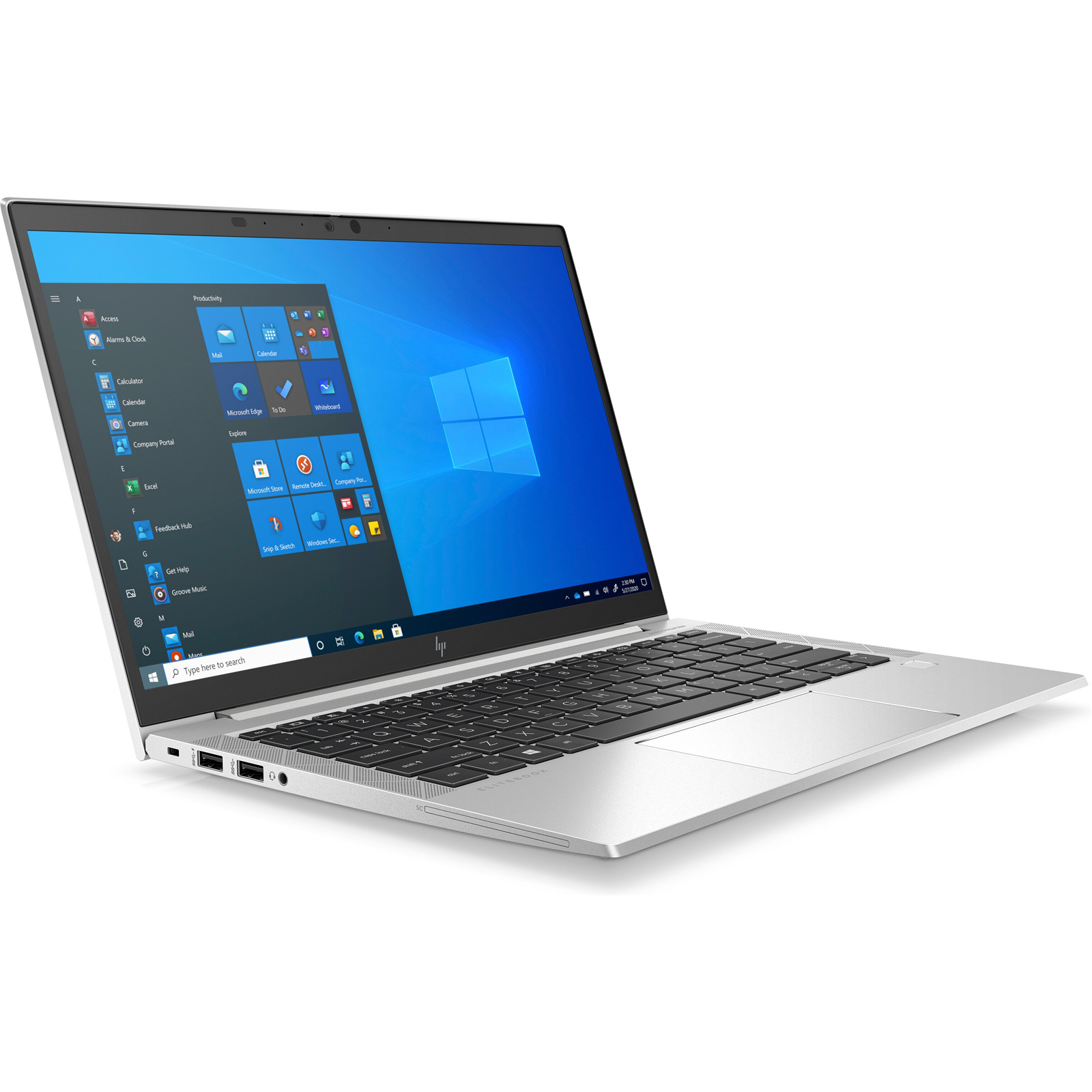 "HP Elitebook 830 G8 38A58PA 13.3"" Business Laptop - i5-1145G7 vPro, 16GB, 512GB, 4G, Windows 10 Pro, Touchscreen"