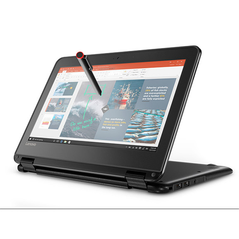 lenovo yoga n24 2in1 flip education laptop 116 anti glare touchscreen intel celeron n3450 quad core 4gb ddr4 64gb emmc no dvd win10pro 64bit 1yr warranty