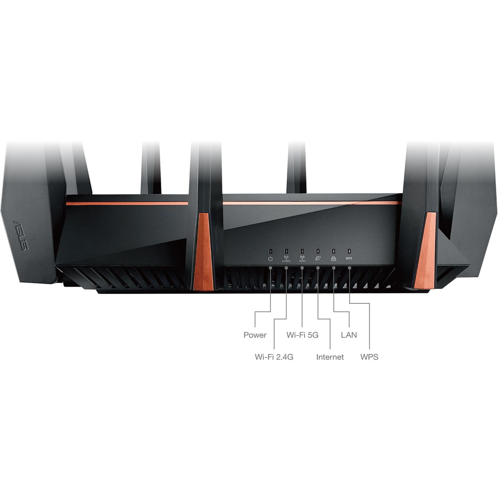Buy the ASUS GT-AC5300 MU-MIMO Gigabit Wi-Fi Extreme Gaming