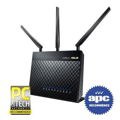 Buy the ASUS RT-AC68U Gigabit WiFi Router Dual-Band Tri-Stream AC1900, 5  x    ( RT-AC68U ) online