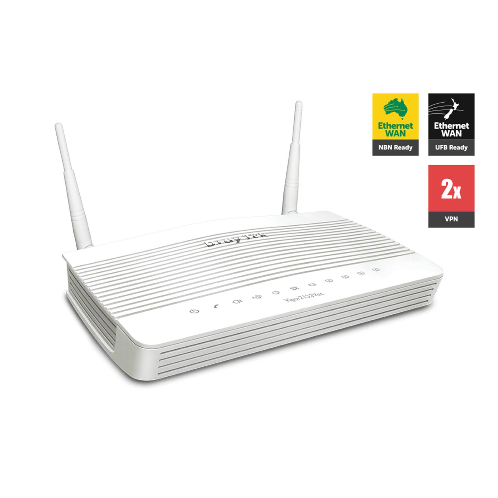 Buy the DrayTek Vigor2133Vac Dual-WAN Load Balancing Wi-Fi