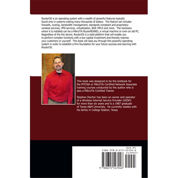 Buy the RouterOS By Example Book ( LMT-B1 ) online - PBTech co nz