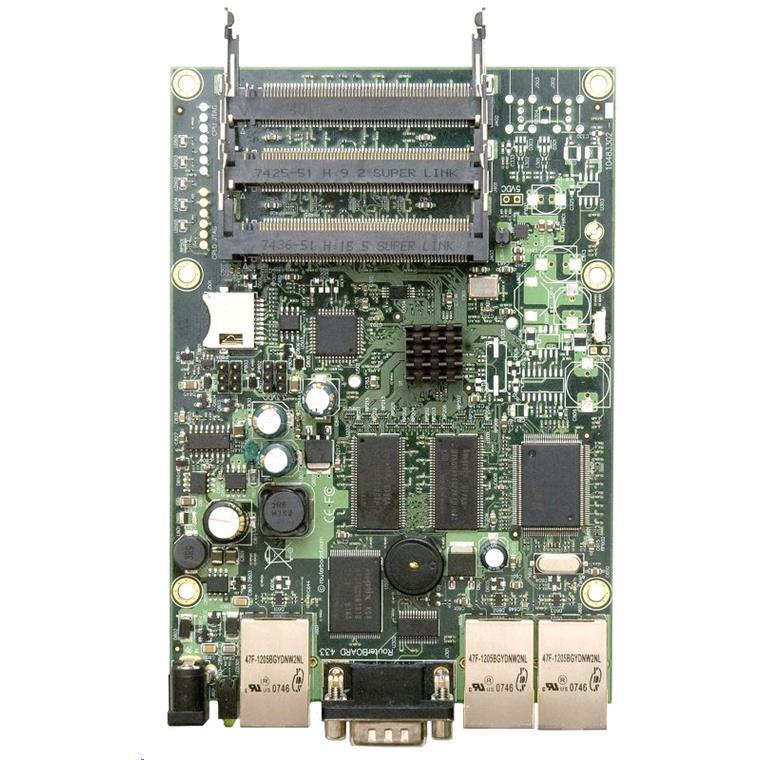Buy the MikroTik RouterBOARD RB433AH ( RB/433AH ) online - PBTech co nz