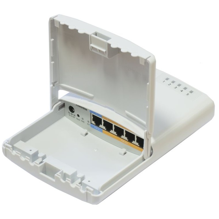 Buy the MikroTik PowerBox Pro Outdoor PoE Router 5 Port Gigabit