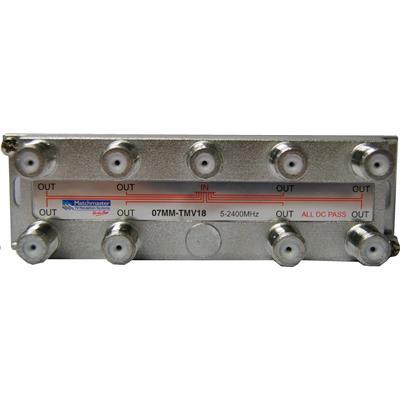 Buy the Matchmaster 07MM-TMV18 RF Splitter 8 Way 5-2050MHz F