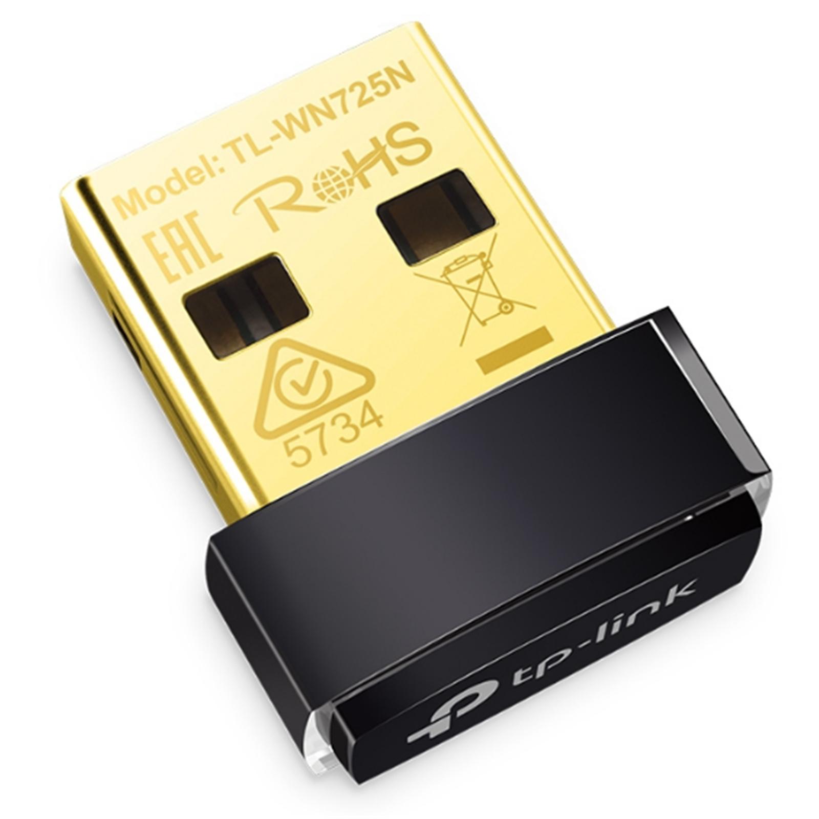 Buy the TP-Link TL-WN725N N150 Nano USB Wi-Fi Adapter ( TL-WN725N
