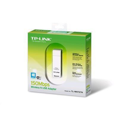 Buy the TP-Link TL-WN727N N150 USB Wi-Fi Adapter ( TL-WN727N