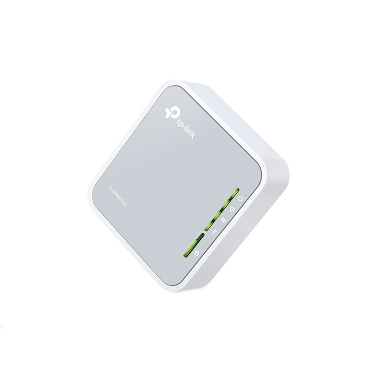 Buy the TP-Link TL-WR902AC Travel Wi-Fi Router, Dual-Band Wireless-AC750, 1  x    ( TL-WR902AC ) online