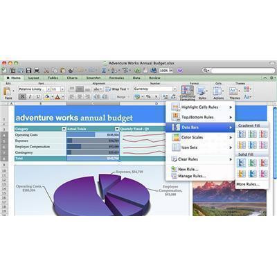 Buy the Microsoft Office Mac Home and Student 2011 English 1