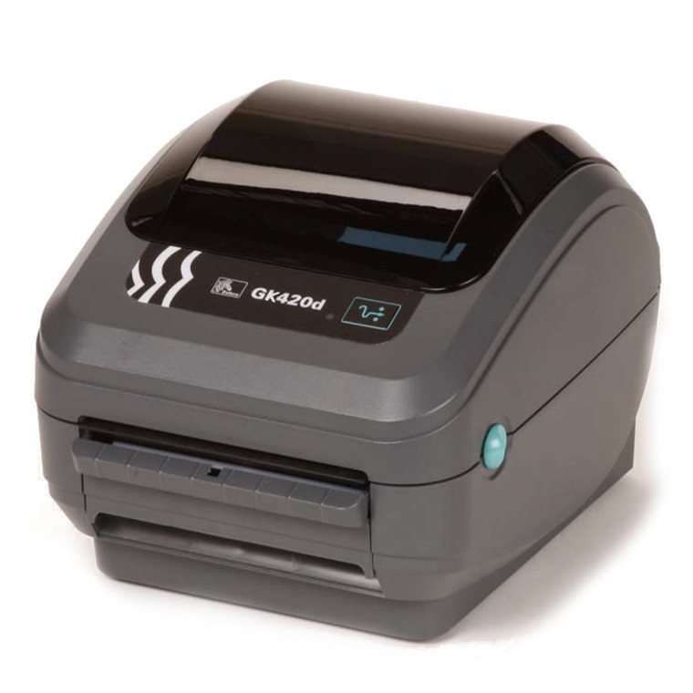 Buy the Zebra GK420D direct thermal label printer 203 DPI