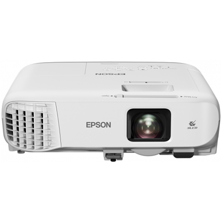 EPSON EB-980W WXGA, LCD PROJECTOR 3800 ANSI LUMENS, LAN, HDMI, 16W SPEAKER LAMP LIFE UP TO 12,000 HRS