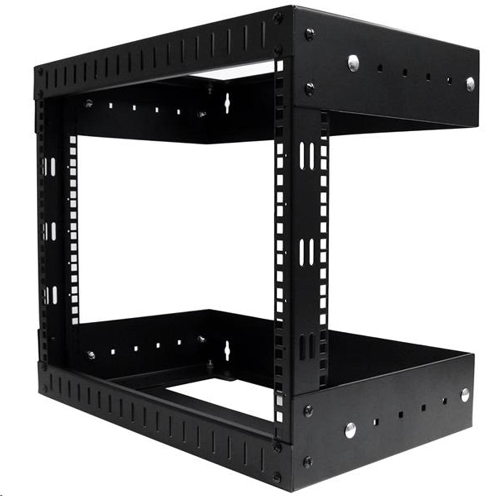 Buy the STARTECH RK812WALLOA 8U Open Frame Wall Mount Equipment Rack ...