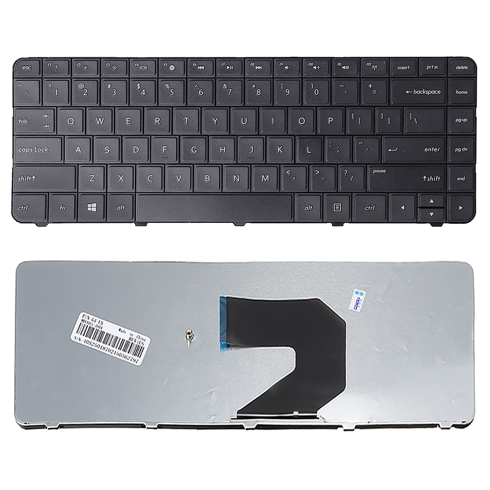 HP keyboard HPG6 black 636376-001 B