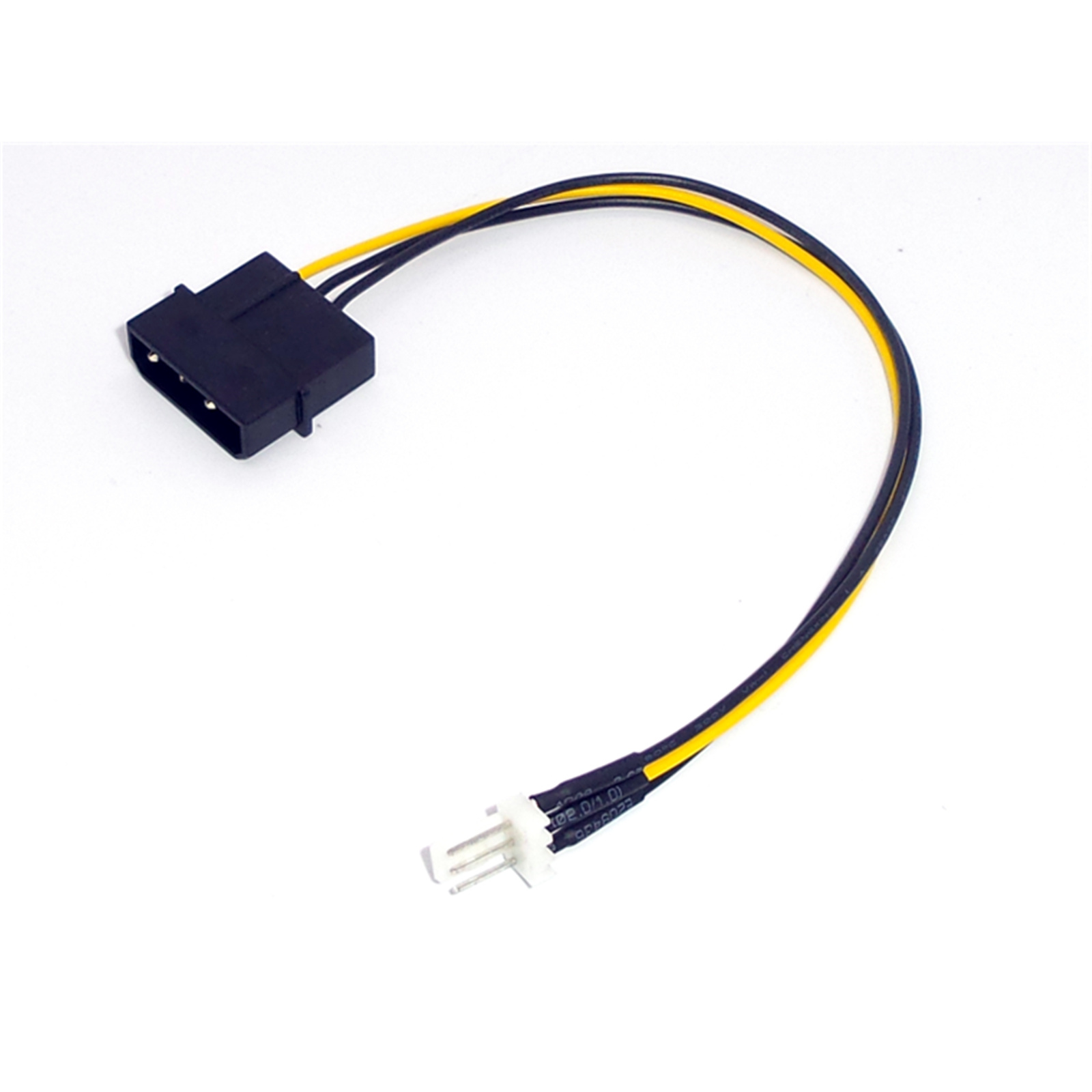 Buy The Oem 1 X Molex D Type 4 Pin Male To Fan 3 Electrical Wiring Connector Types Convert Cable 18cm