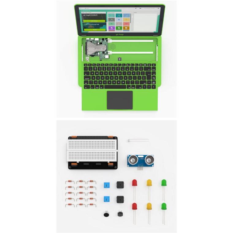 Buy the pi-top Laptop Gen 2 PTIUGR200001 Special Inventors Kit Pre