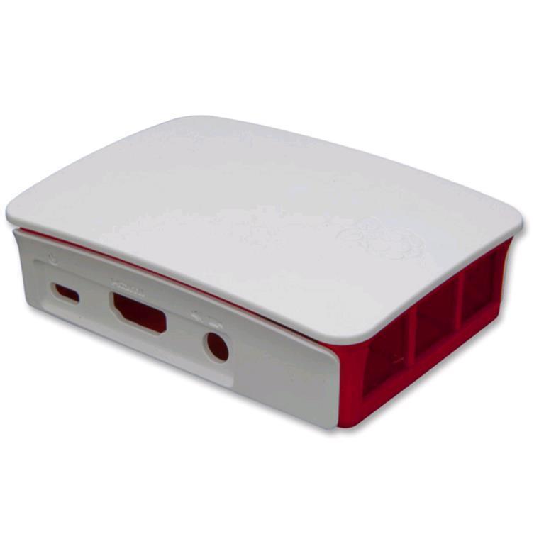 Red//White Official Raspberry Pi 3 Case for Raspberry Pi 3 Model new H/&