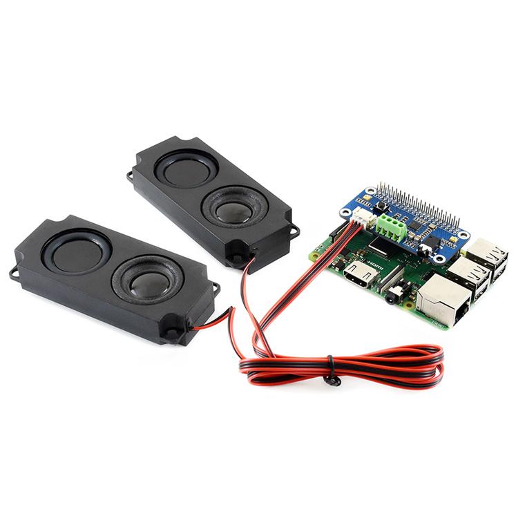 Buy the Raspberry Pi Audio Card WM8960 WaveShare Hi-Fi Sound