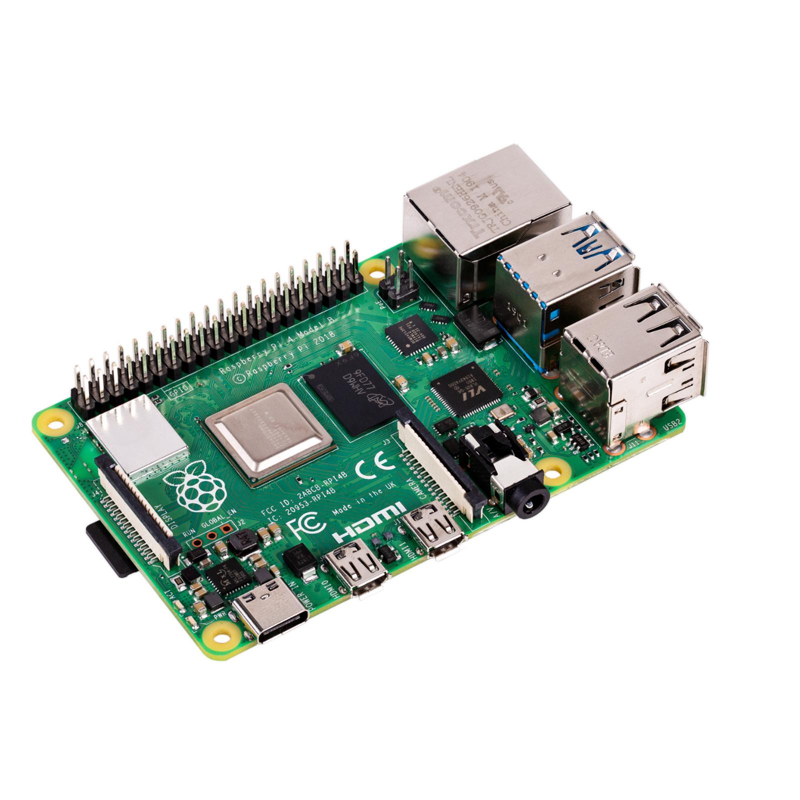 Buy the Raspberry Pi 4 Model B 4GB LPDDR4 FIRST 28nm-Based