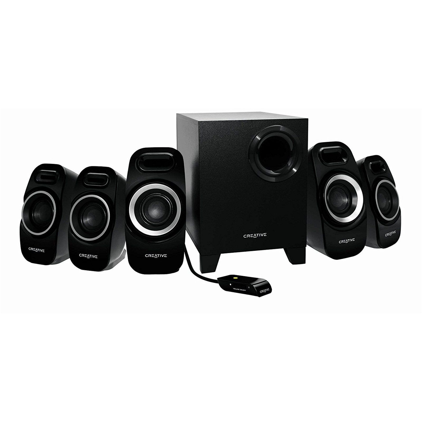 Buy the Creative Inspire T6300 51 Surround Speaker System with