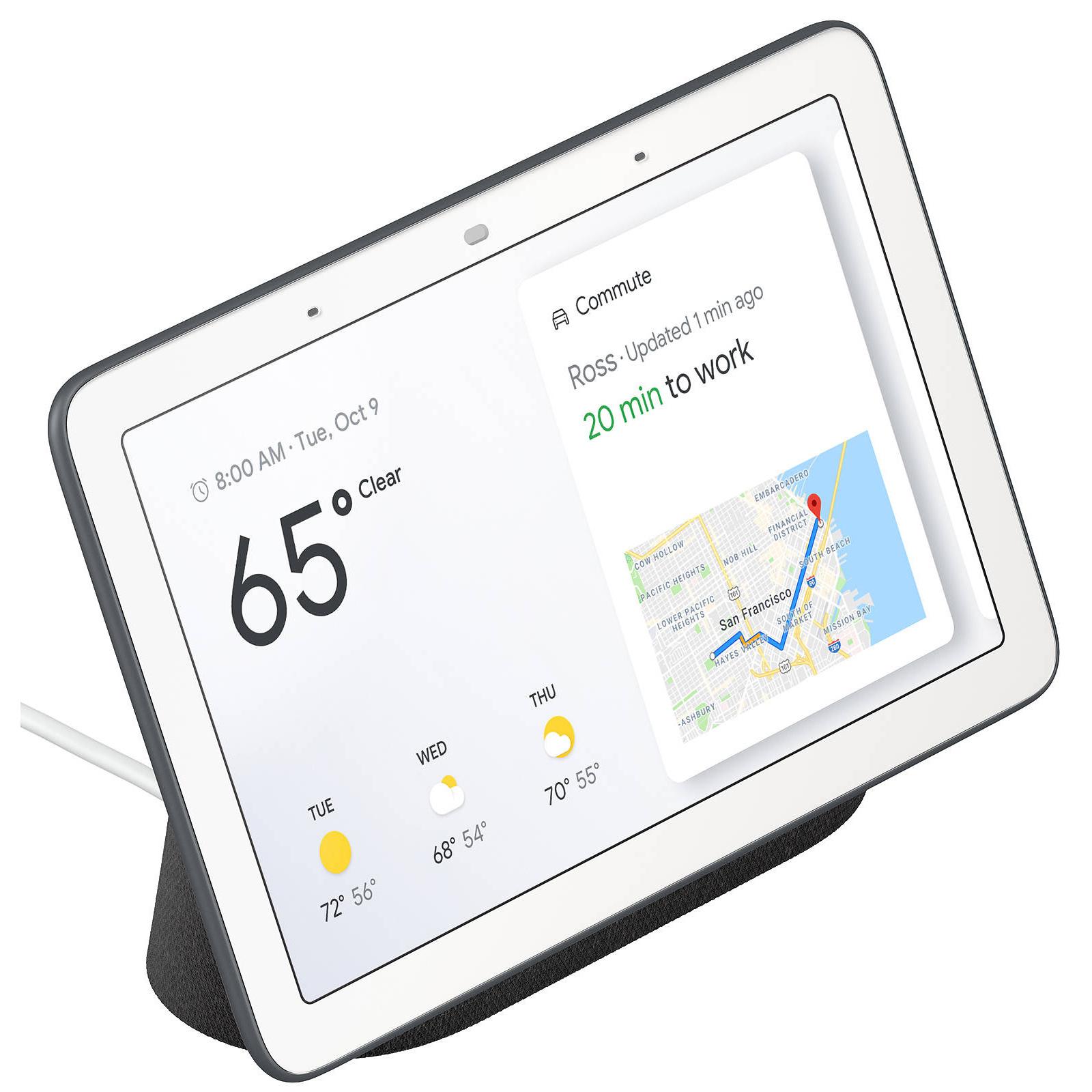 Buy the Google Home Nest Hub - Charcoal ( GA00515-AU ) online