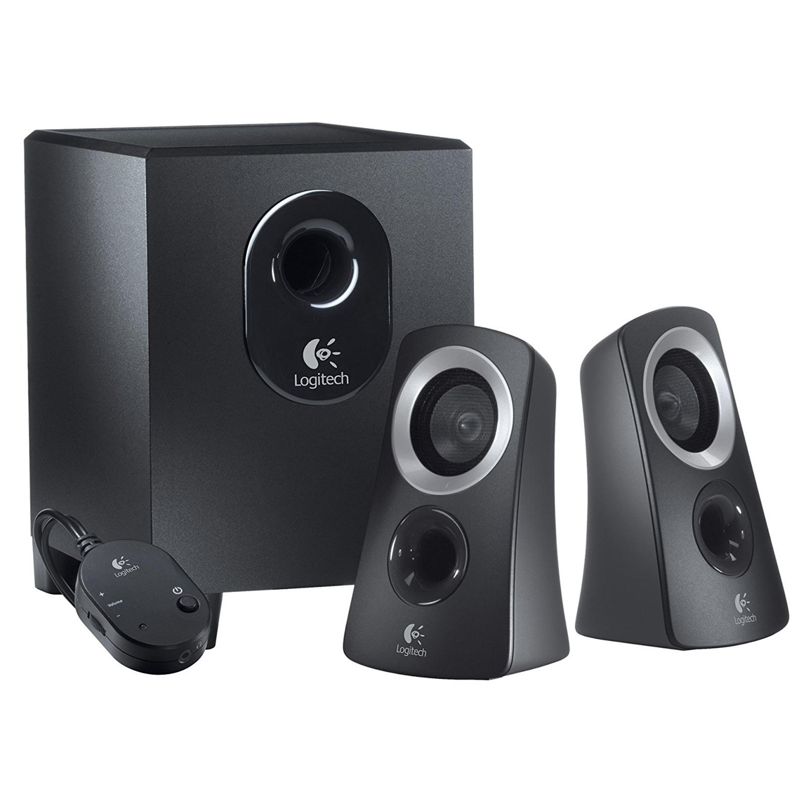 Buy the Logitech Z313 2 1 Multimedia Speaker System ( 980