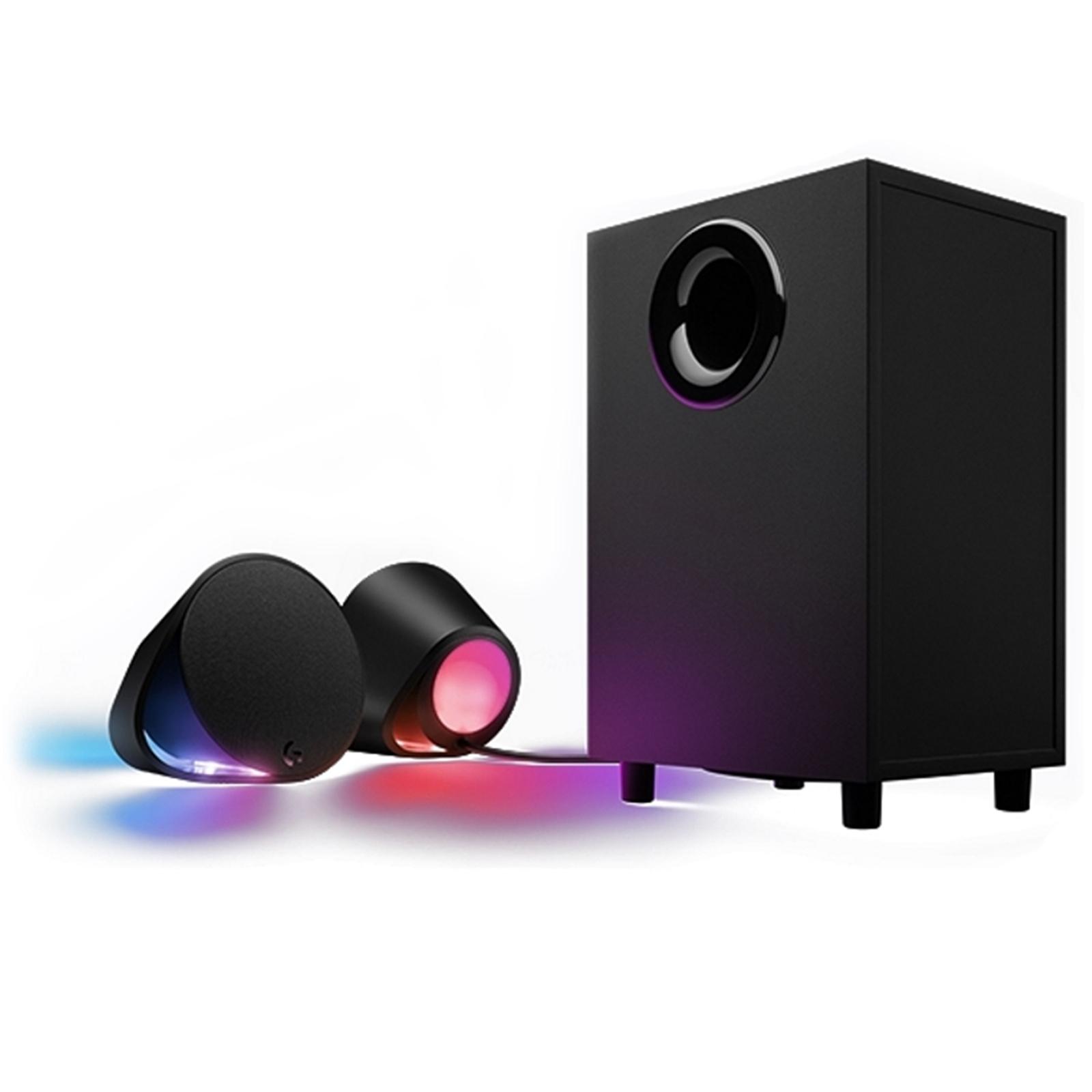 Buy the Logitech G560 2 1 LIGHTSYNC PC RGB Gaming Speaker, Game