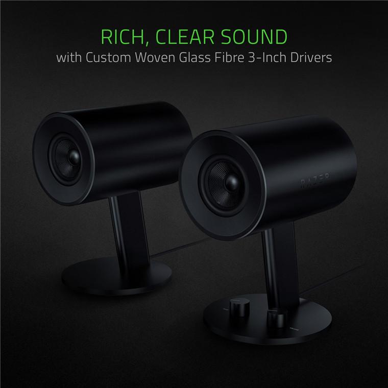 Buy the Razer Nommo Full Range 2 0 Gaming PC Speaker