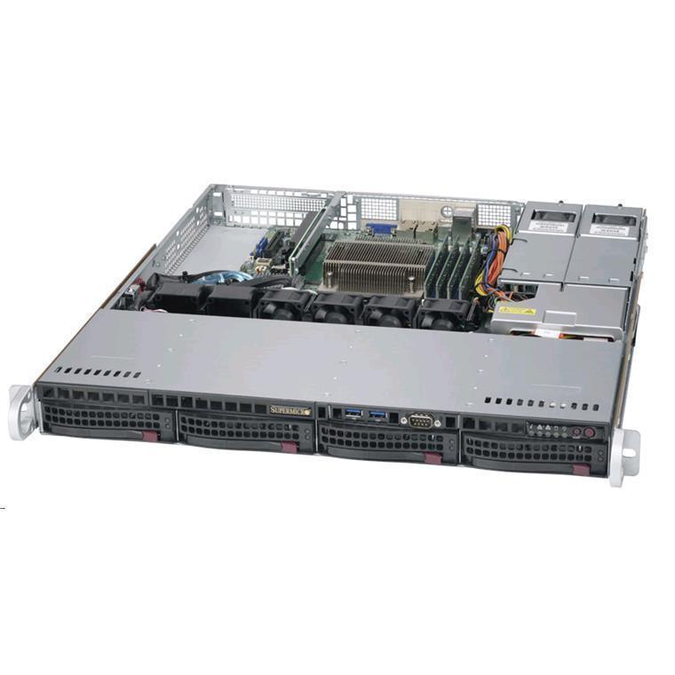 Buy the Supermicro 5019S-MR Barebone 1U, LGA1151, 4x 3 5