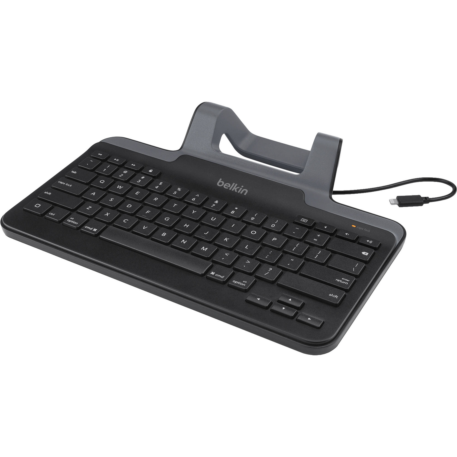 Buy the Belkin B2B130 Wired Tablet Keyboard w/ Stand for iPad ...