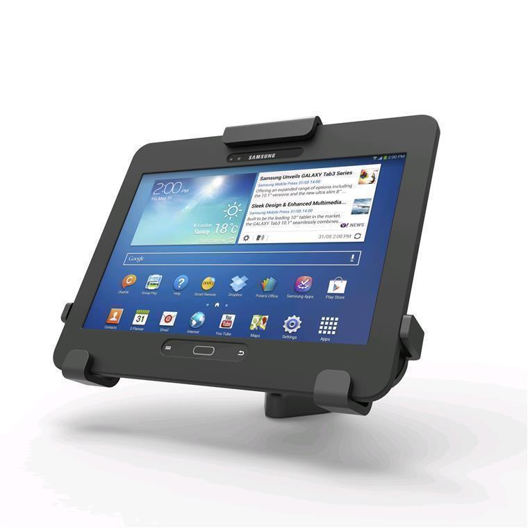 Compulocks Tablet Rugged Case Holder Locking Stand For Cases