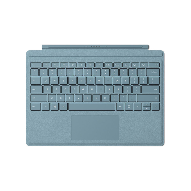 d4ec7d39010 Buy the Microsoft Surface Pro Signature Type Cover Keyboard - AQUA ...