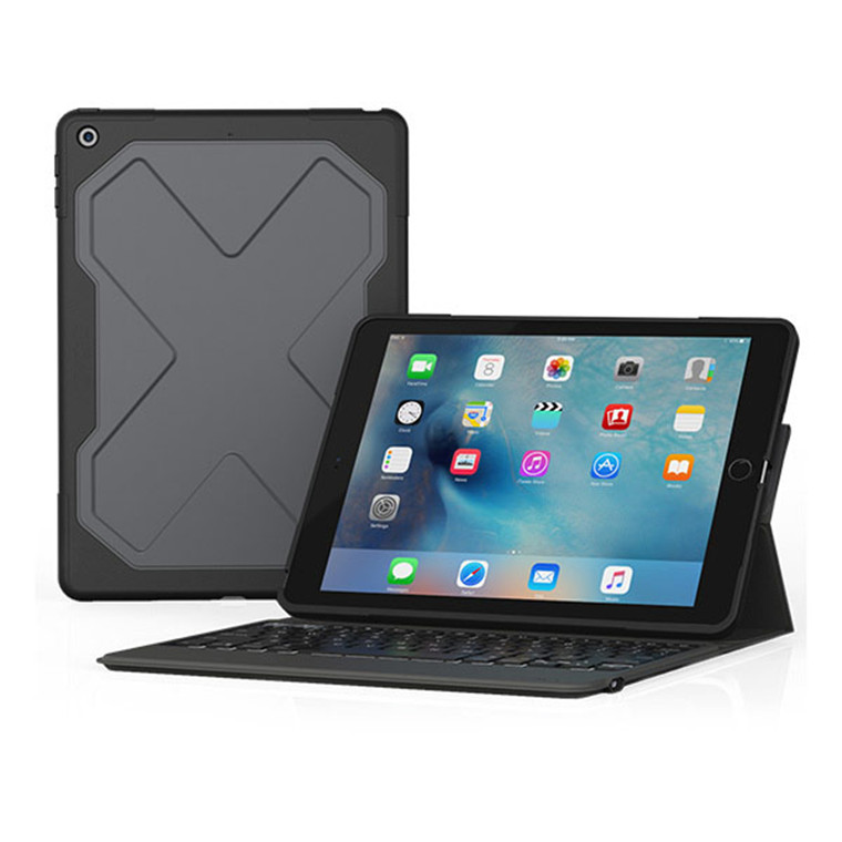 Buy the ZAGG Rugged Messenger Keyboard and Case for iPad 9.7\