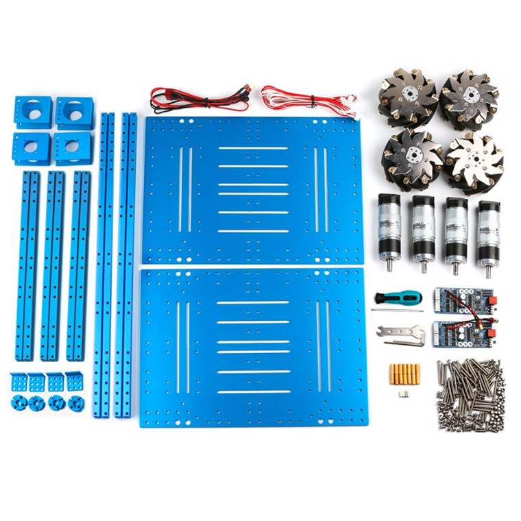 e8d20853998 Buy the Makeblock 90034 Mecanum Wheel Robot Kit without Orion and ...