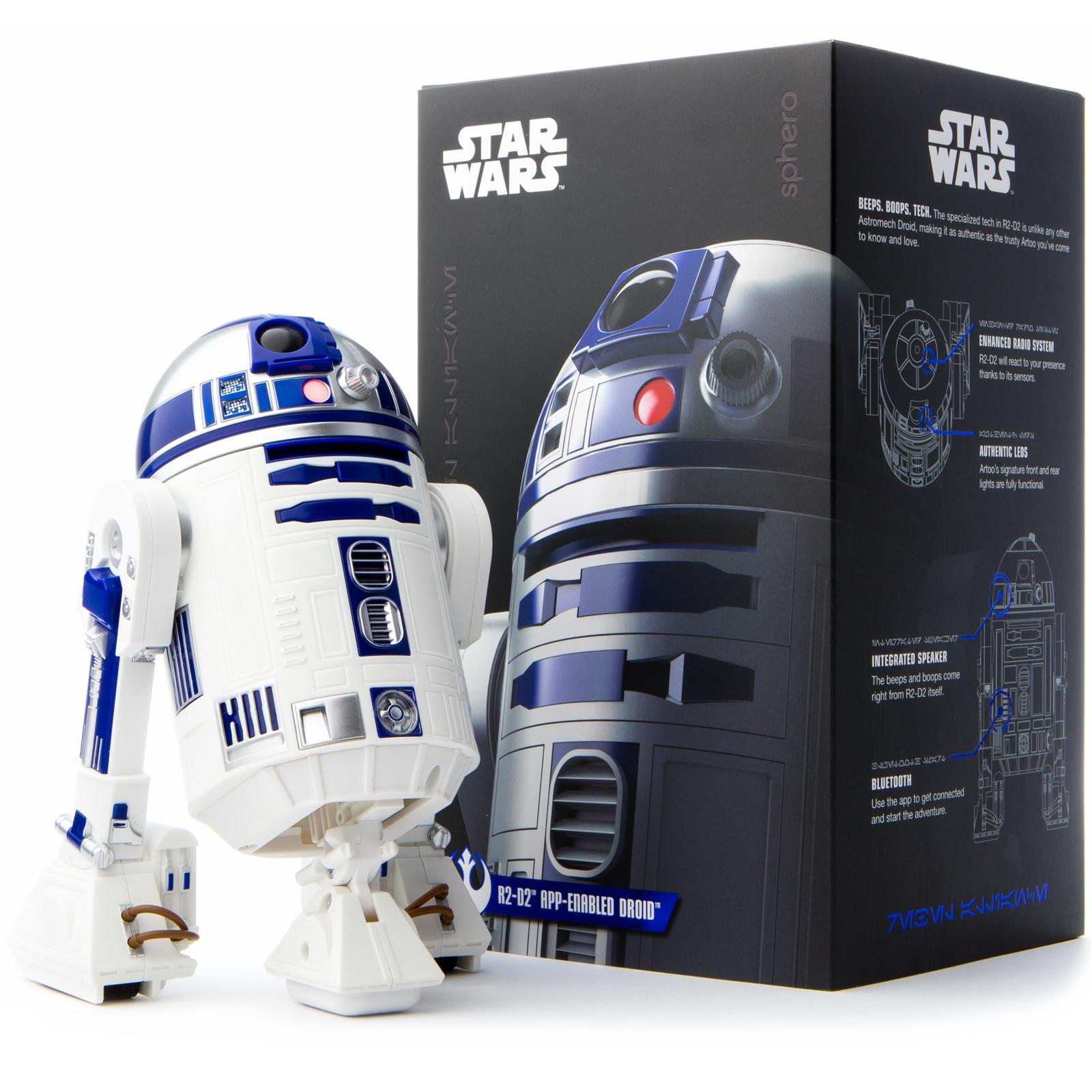 Buy The Sphero Star Wars R2 D2 App Enabled Droid R201row Online