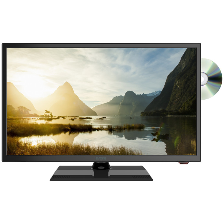 Buy The Evoke 24 Twin Tuner Led Tv With Built In Dvd Player Ex