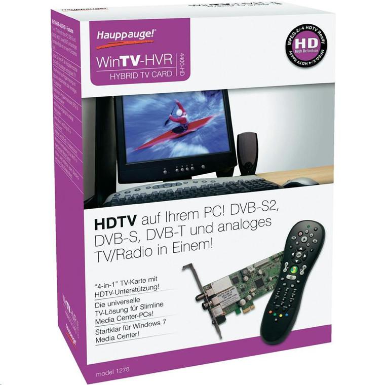 Buy the Hauppauge WinTV-HVR-4400-HD HVR 4400 (DVB-T, DVB-S/S2