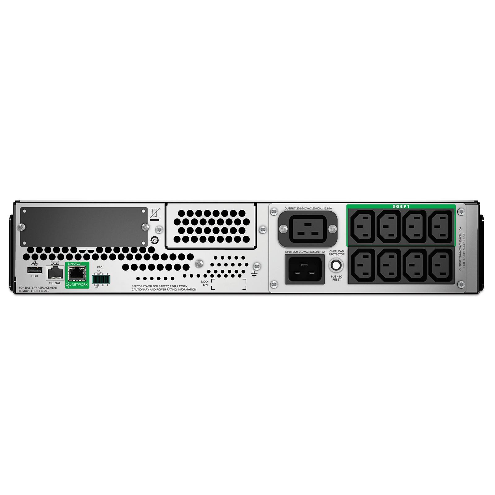 Buy the APC Smart UPS 3000VA LCD RM 2U 230V with